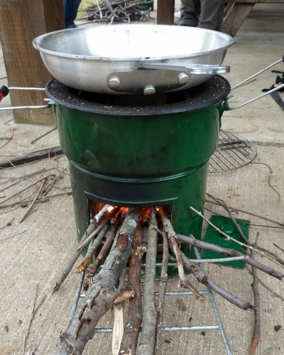 Сamp stoves: HOMEMADE WOOD BURNING CAMPING STOVES