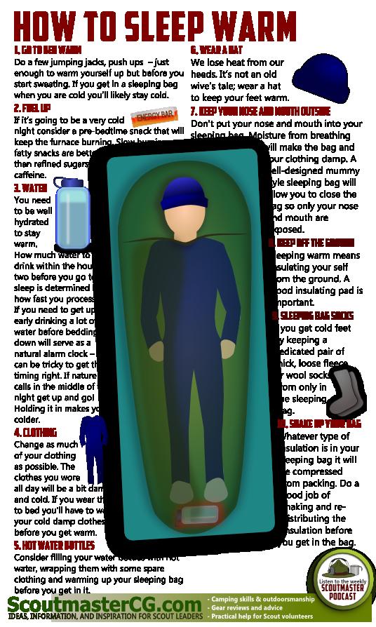 How to Keep Warm in Sleeping Bag