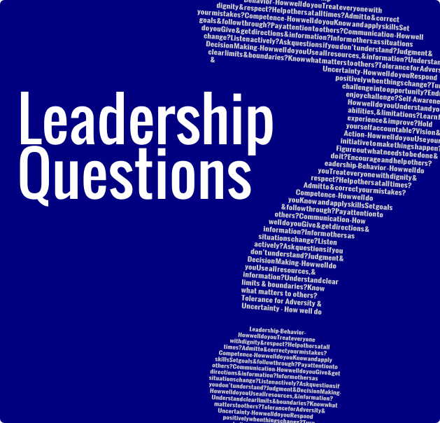 leadership questions The best leaders always ask these questions  of the state university of new york and now as president of the center for creative leadership.