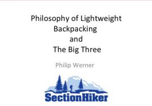 ultralight backpacking explained