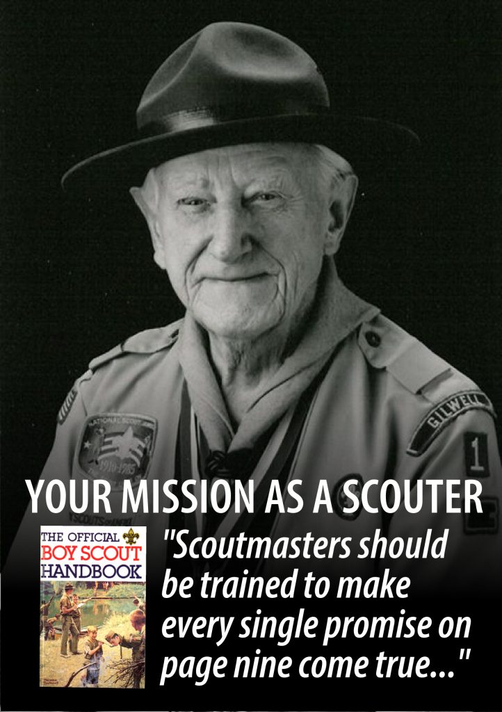 your mission as a scouter