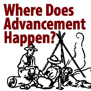 where does advancement happen