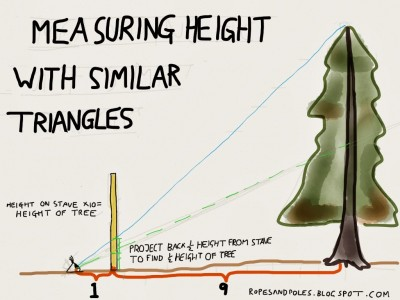 Scouts Measure Height
